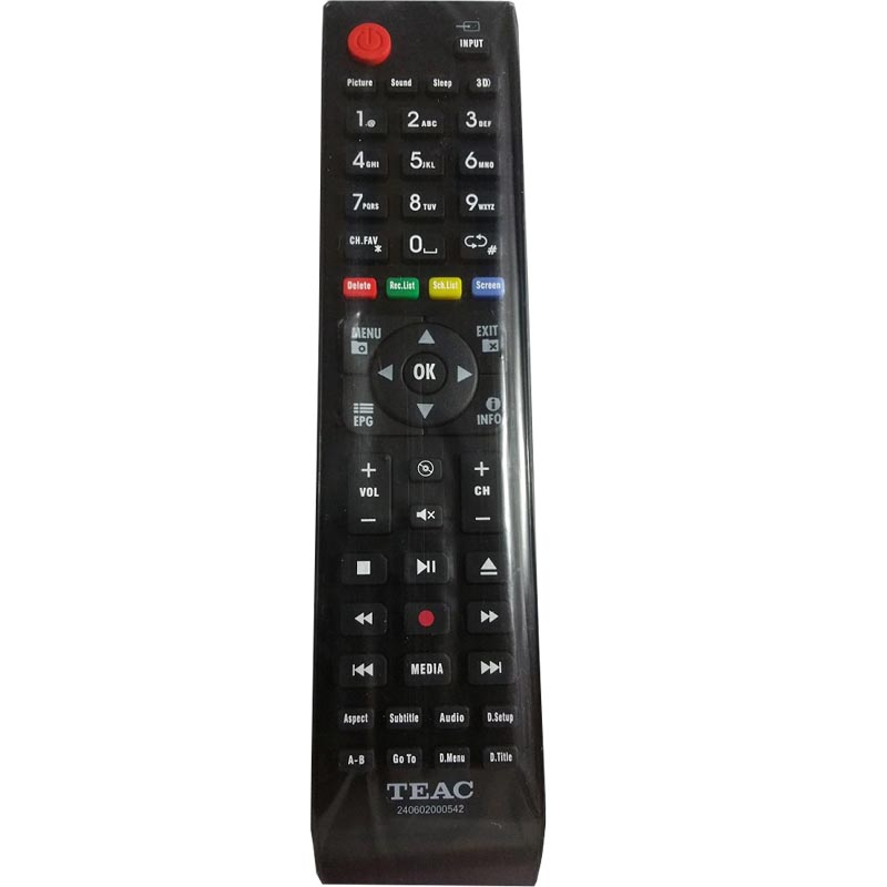 TEAC TV Remote Control