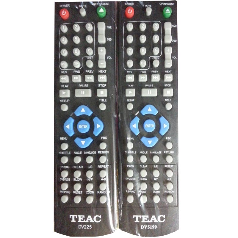 TEAC DVD Player Remote Control