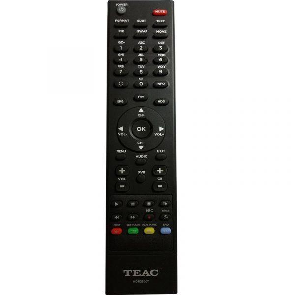 teac remote conrtol hdr3500t