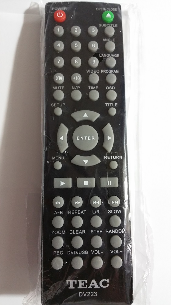 TEAC DV5199 Remote Controls