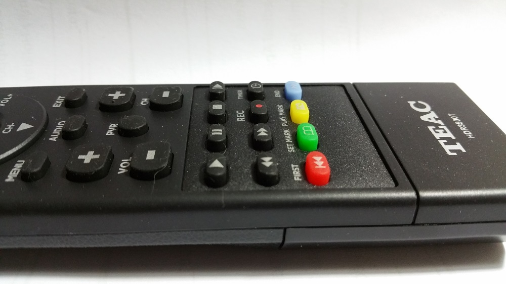 TEAC HDR3500T Remote Control
