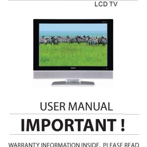 TEAC LCDV2250SD User Manual