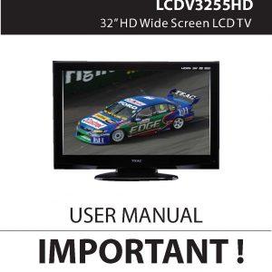 TEAC LCDV3255HD User Manual