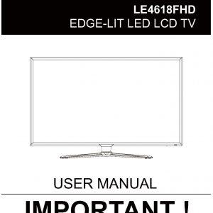 TEAC LE4618FHD User Manual
