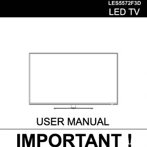 TEAC LES4272F3D_LES5572F3D_User_Manual