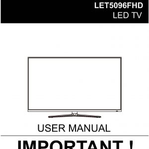 TEAC LET5096FHD_User_Manual