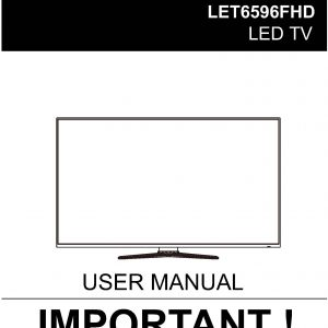 TEAC LET6596FHD_User_Manual