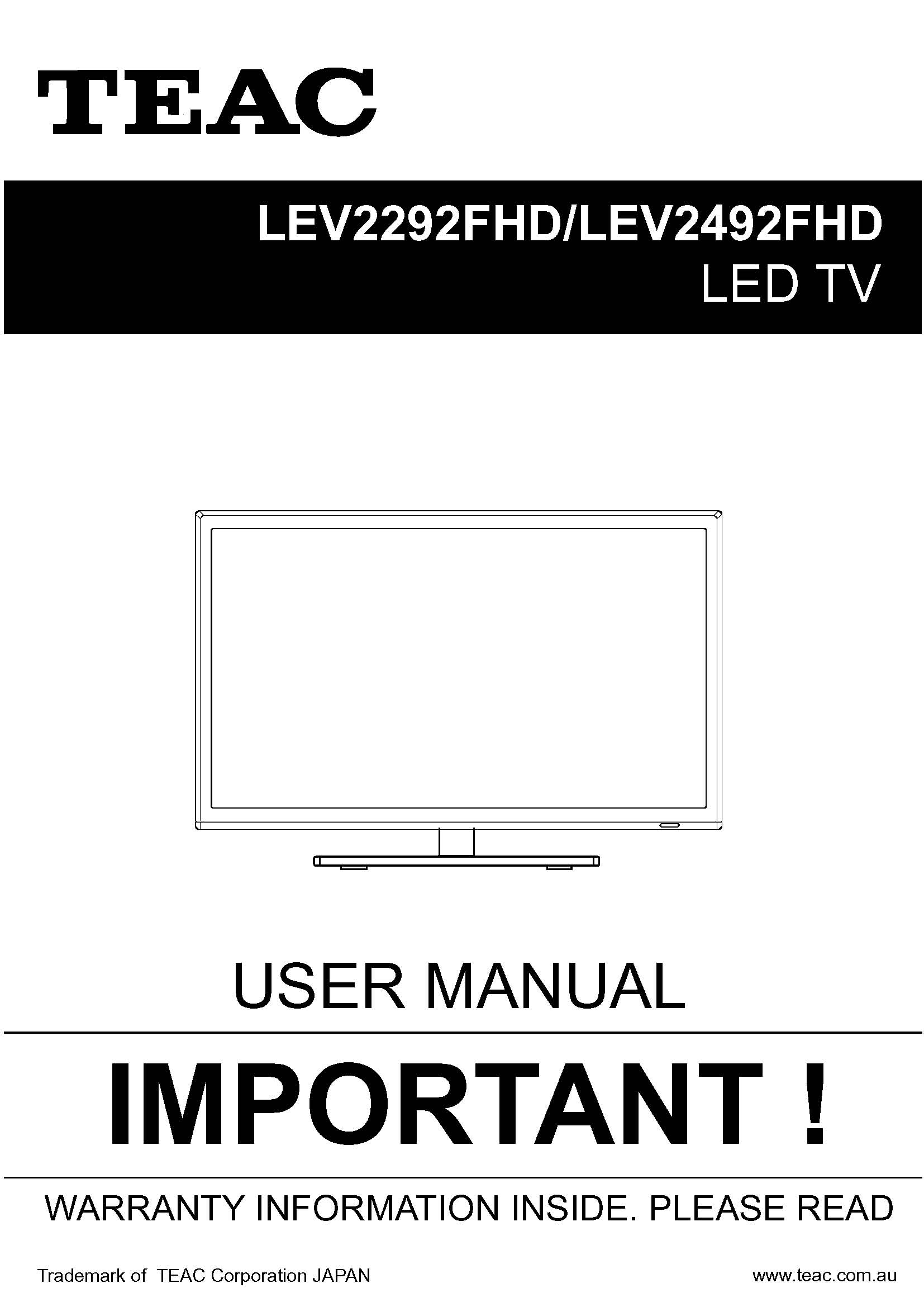 TEAC LEV2292FHD_LEV2492FHD_User_Manual