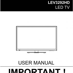 TEAC LEV3292HD_User_Manual