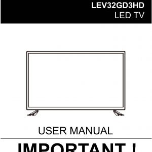 TEAC LEV32GD3HD_User_Manual