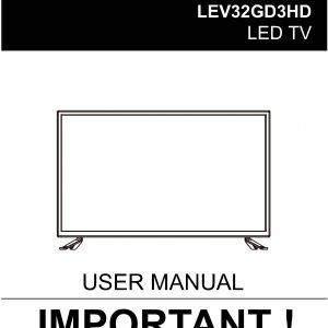 TEAC LEV32GD3HD_User_Manual