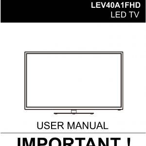 TEAC LEV40A1FHD_User_Manual