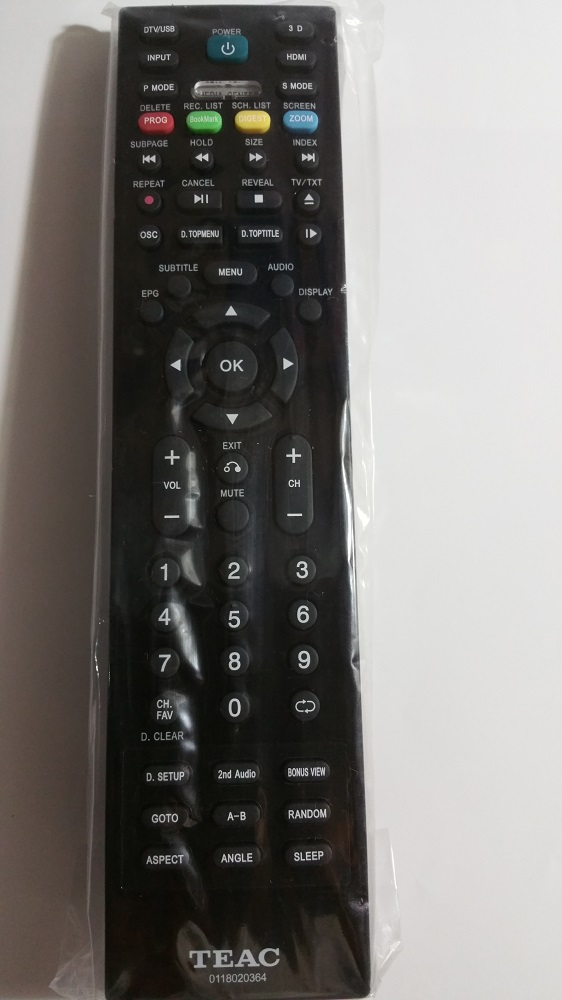 TEAC Remote Control 01180820364