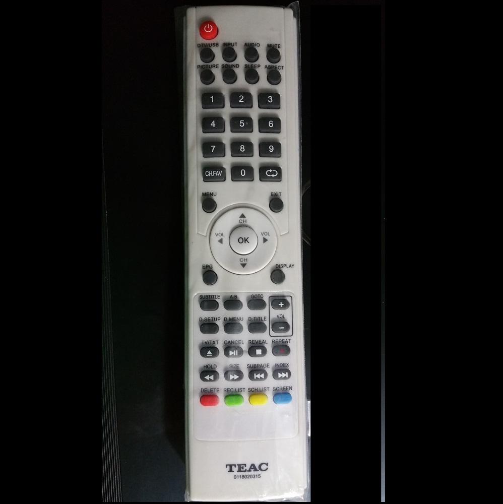TEAC Remote control 0118020315 White