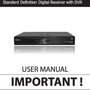 TEAC SDB452 Instruction Manual