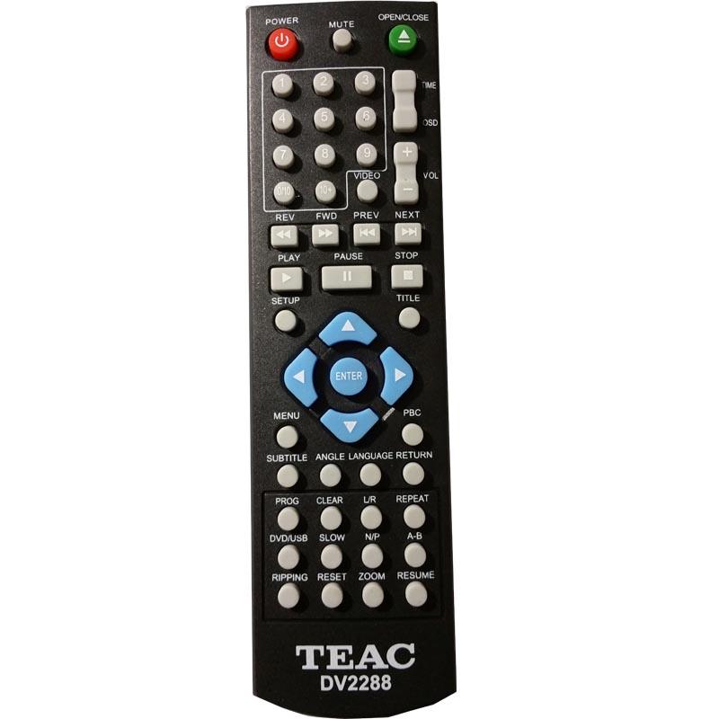 TEAC DV2288 remote control