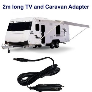 """Arial"""">NEW 2M Long - 12v DC POWER CABLE CORD CIGAR ADAPTOR For 12 Volt TV DVD CHARGER in CARAVAN, Motor Home.12 Volt DC Power Cable suitable for Portable Devices on 12 Volt DC power. Just insert this adapter to your car cigarette lighter outlet for power while you are outdoor, camping and travelling!This cable is 2 Meter Long!Input voltage : 12 Volt DCOutput voltage : 12 Volt DCOutput Jack diameter : 5.5mm outer and 2.1mm inner.It is suitable for most 24"""" and below popular brands like TEAC, Kogan, Pendo, etc.Before purchase, please check the connector size and specification of your TV before purchase.                                             ------------------------------------------------------------------------------------------------------------In order to buy the correct Remote Control, please ensure you select the same kind. If you are not sure, please ask us first before purchase.Please note not all Remote Controls are interchangeable.We specialised in TEACremote controls only.Product quality is guaranteed. CHECK OUT OTHER PRODUCTS WE ARE SELLING!! YOU WILL DEFINITELY FIND SOMETHING YOU LIKE!! Click the link to find out more!! Visit Our Store809 You will find more TEAC Remote Controls! and Many more amazing products! Delivery lead time-My Order Has Been Shipped - How Long Does Delivery Take?Delivery times vary depending on the product you have ordered and your delivery address.After your order leaves the warehouse, deliveries typically takes about:· 5 days to VIC Metro, NSW Metro, SA Metro, and QLD Metro.· 7 days to VIC Rural, NSW Rural, SA Rural.· 8 days to WA Metro, TAS Metro.· 14 days to WA Rural, QLD Rural, TAS Rural, and NT."""
